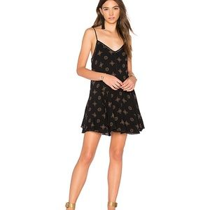 AMUSE SOCIETY HIGH ROAD DRESS IN BLACK SANDS